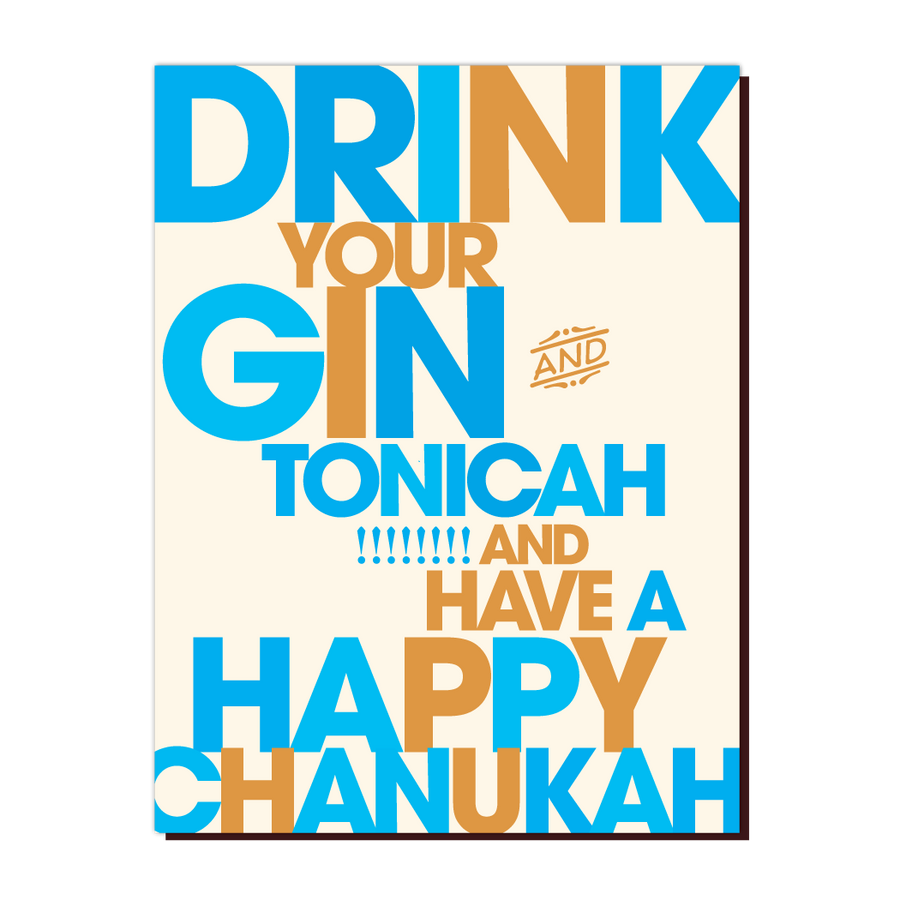 JG01 : GIN AND CHANUKAH