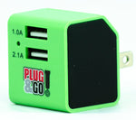 2.1A Dual Port Wall Charger