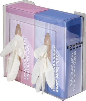 BOWMAN DOUBLE GLOVE DISPENSERS