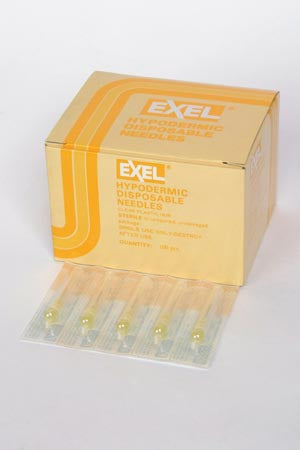 EXEL HYPODERMIC NEEDLES