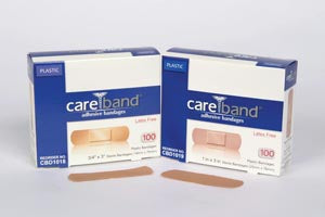 ASO CAREBAND™ PLASTIC ADHESIVE STRIP BANDAGES