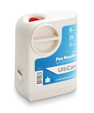 ULTIMED ULTICARE ULTIGUARD PEN NEEDLES