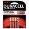 DURACELL® QUANTUM® ALKALINE BATTERIES WITH DURALOCK POWER PRESERVE TECHNOLOGY