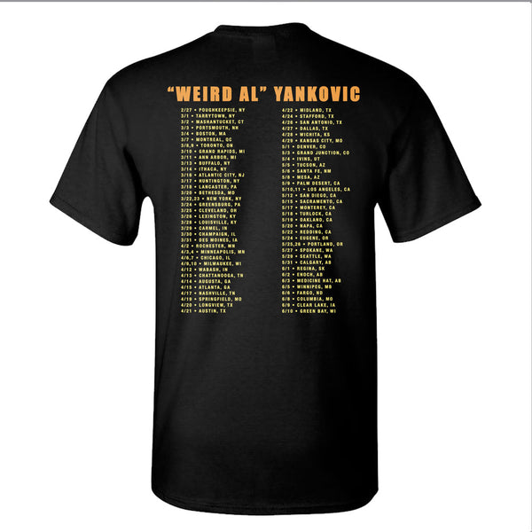 2018 Vanity Tour Official T-Shirt / Tour Dates - Men's