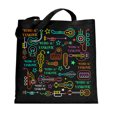 Neon Instruments Tote Bag