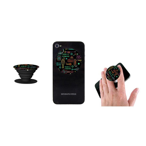 Neon Instrument Pop Socket