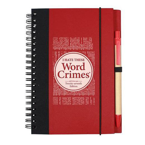 Word Crimes Notebook