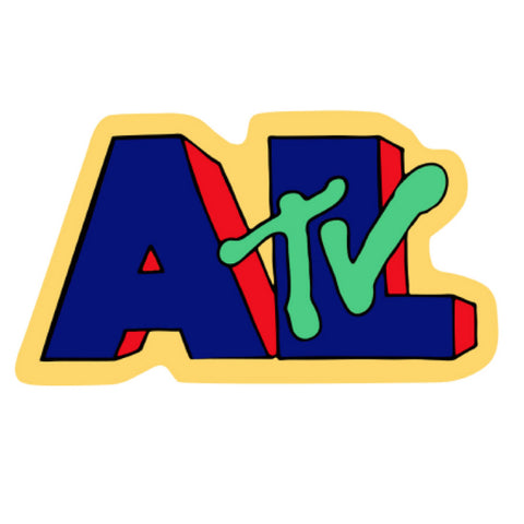 "TV 4"" x 5"" Sticker"