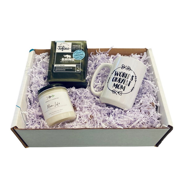 For the 'WORLD's OKAYEST MOM' Gift Box