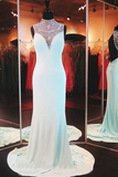 Anneprom Sleeveless Chiffon BacklessLong Prom Dress Evening Dresses APP0067
