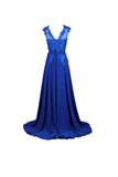 Anneprom Long Bridesmaid Dress Chiffon Prom Dress Homecoming Evening Gowns APB0057