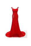 Anneprom Sweetheart Mermaid Long Prom Gowns Evening Dresses Bridesmaid Dresses APB0058