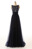 Anneprom Fashion Tulle Prom Dress Long Evening Party Dresses APP0028