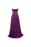 Anneprom A-Line Sweetheart Chiffon Long Prom Dresses Evening Dresses APB0013
