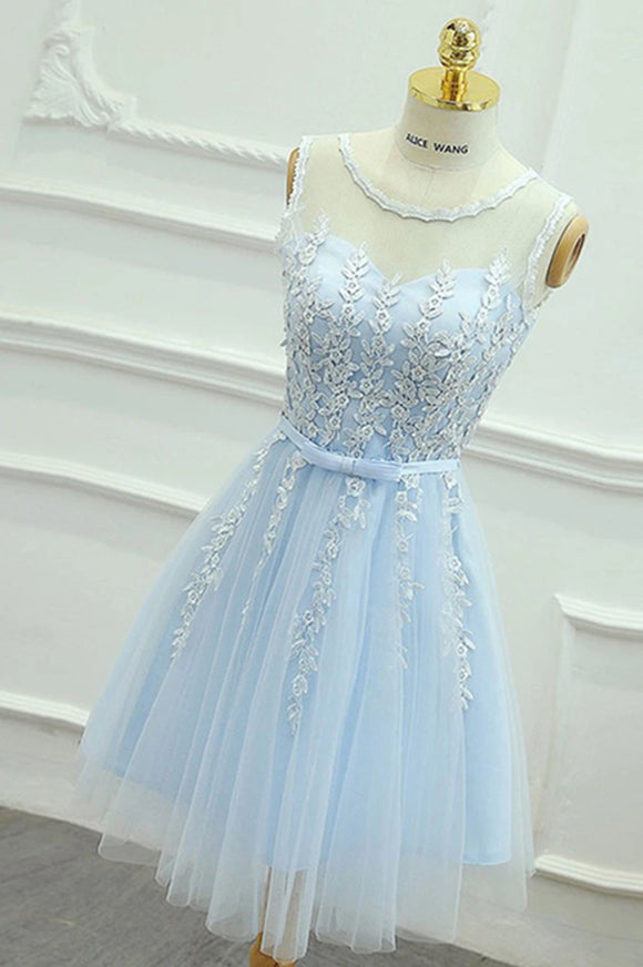 Anneprom A-line Homecoming Dress Short/Mini Prom Drsess Juniors Homecoming Dresses APP0331