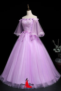 Anneprom Adorable Sweet 16 Gown, Off Shoulder Party Dress APP0350