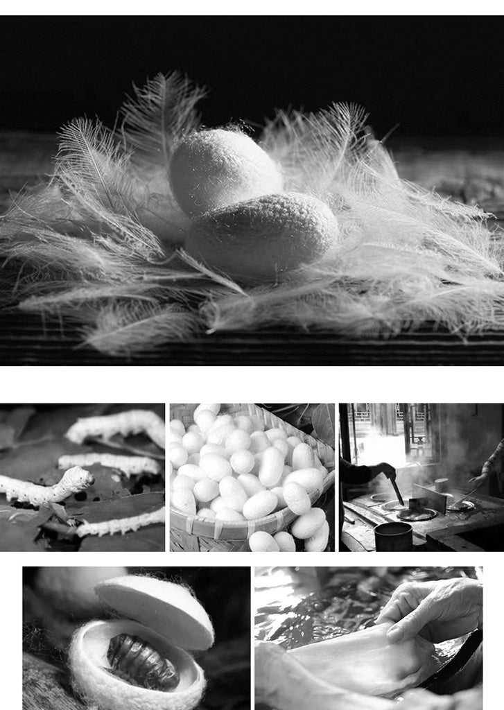 The process of making silk