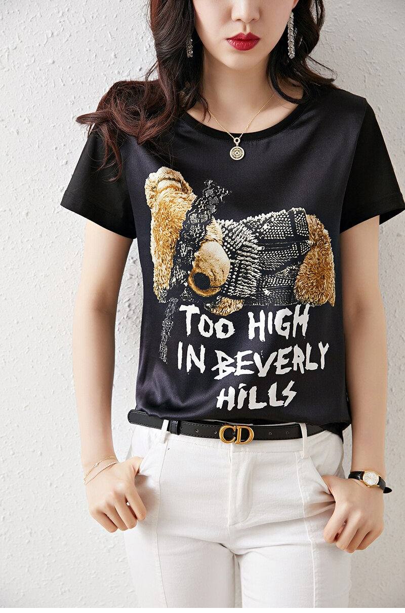 Beverly Hills Graphic Tee - Source Silk