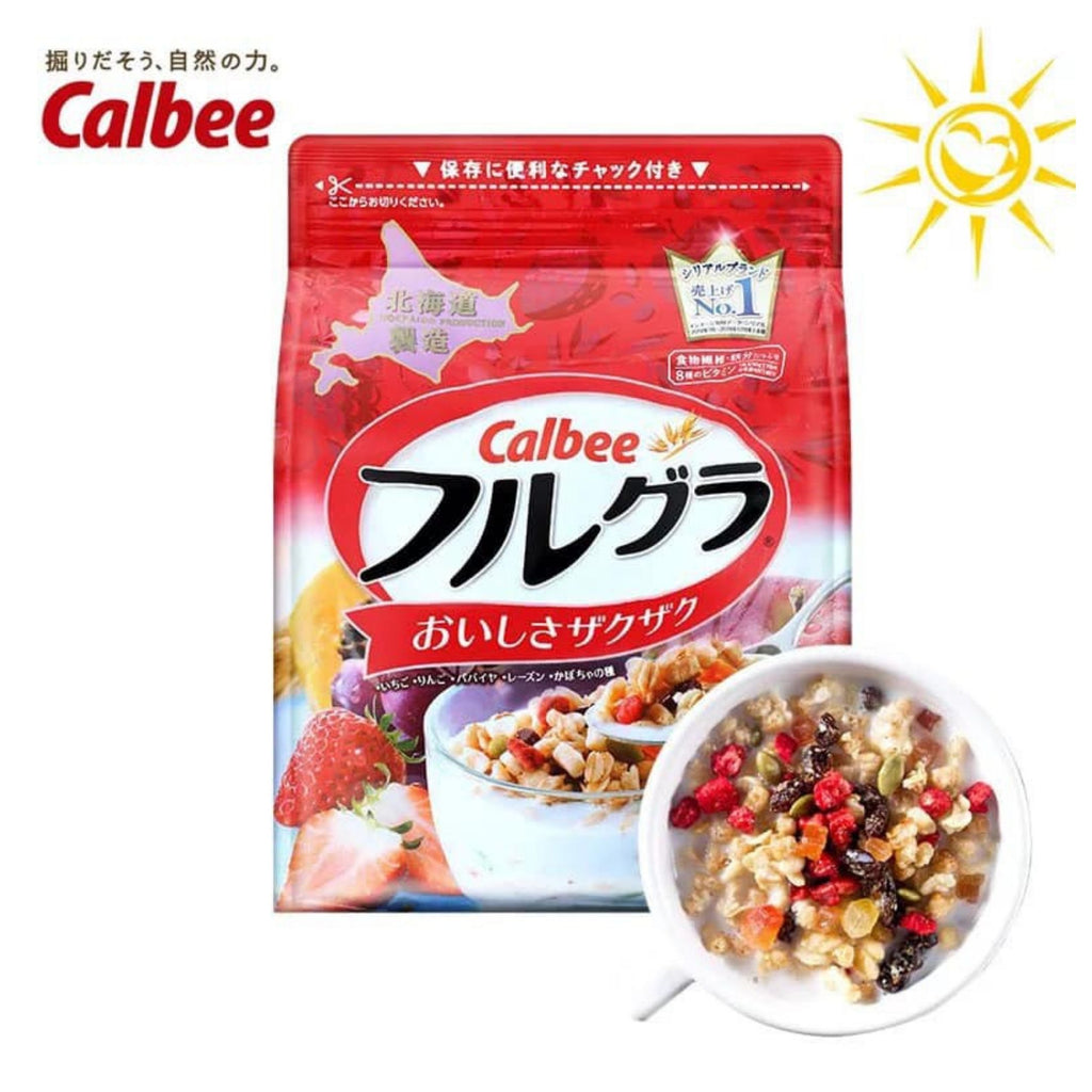 Japanese Calbee Frugra® Fruit Cereal/ Granola (800g)