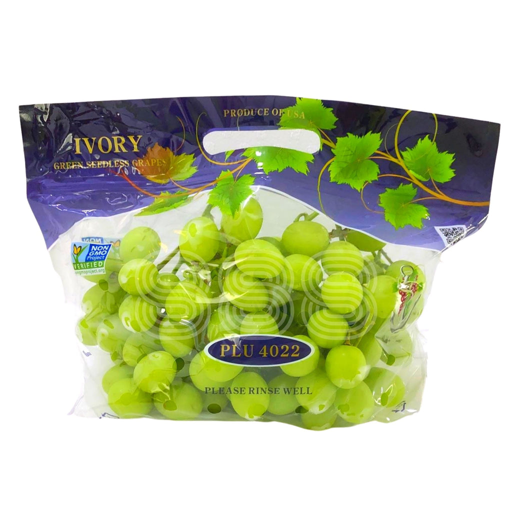 USA Ivory Green Seedless Grapes