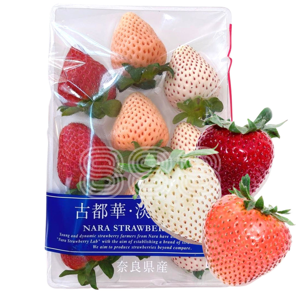 Nara Strawberry Lab Tri-Colour Mix Ichigo (Pearl White, Awayuki, Kotoka)