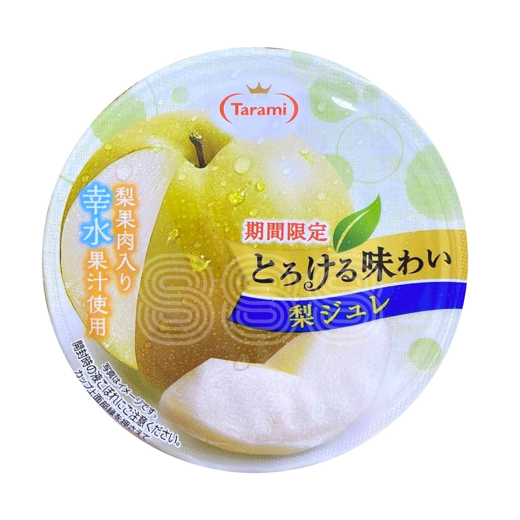 TARAMI TOROKERU AJIWAI FRUIT JELLY CUP (Honey Pear)