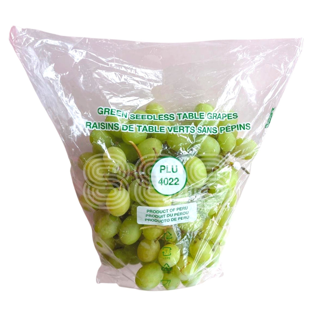 Peru Green Seedless Grapes