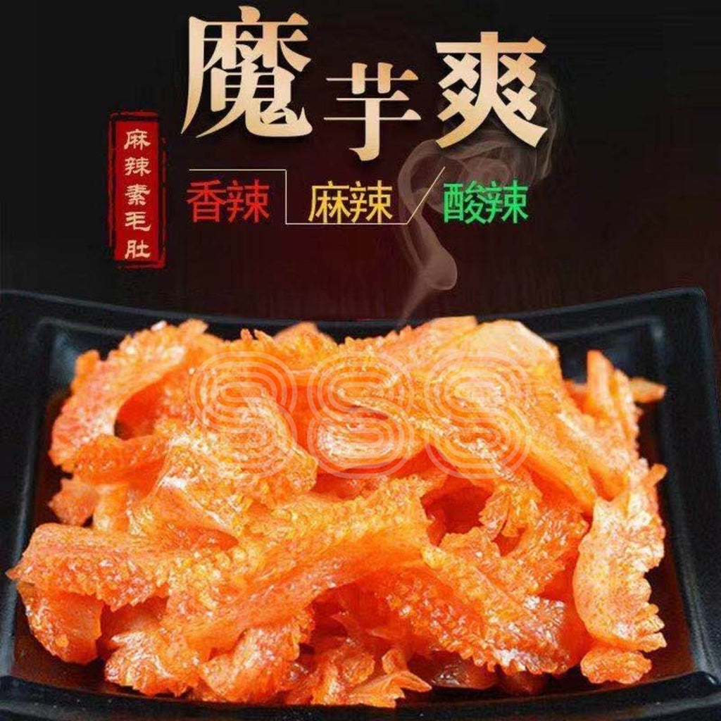 Vegetarian Konjac Strips 魔芋爽 (麻辣 Mala/香辣 Spicy) 18g x 20packets