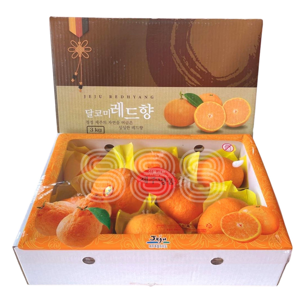 Korea Jeju Red Hyang Mandarin Orange Gift Box (3kg)