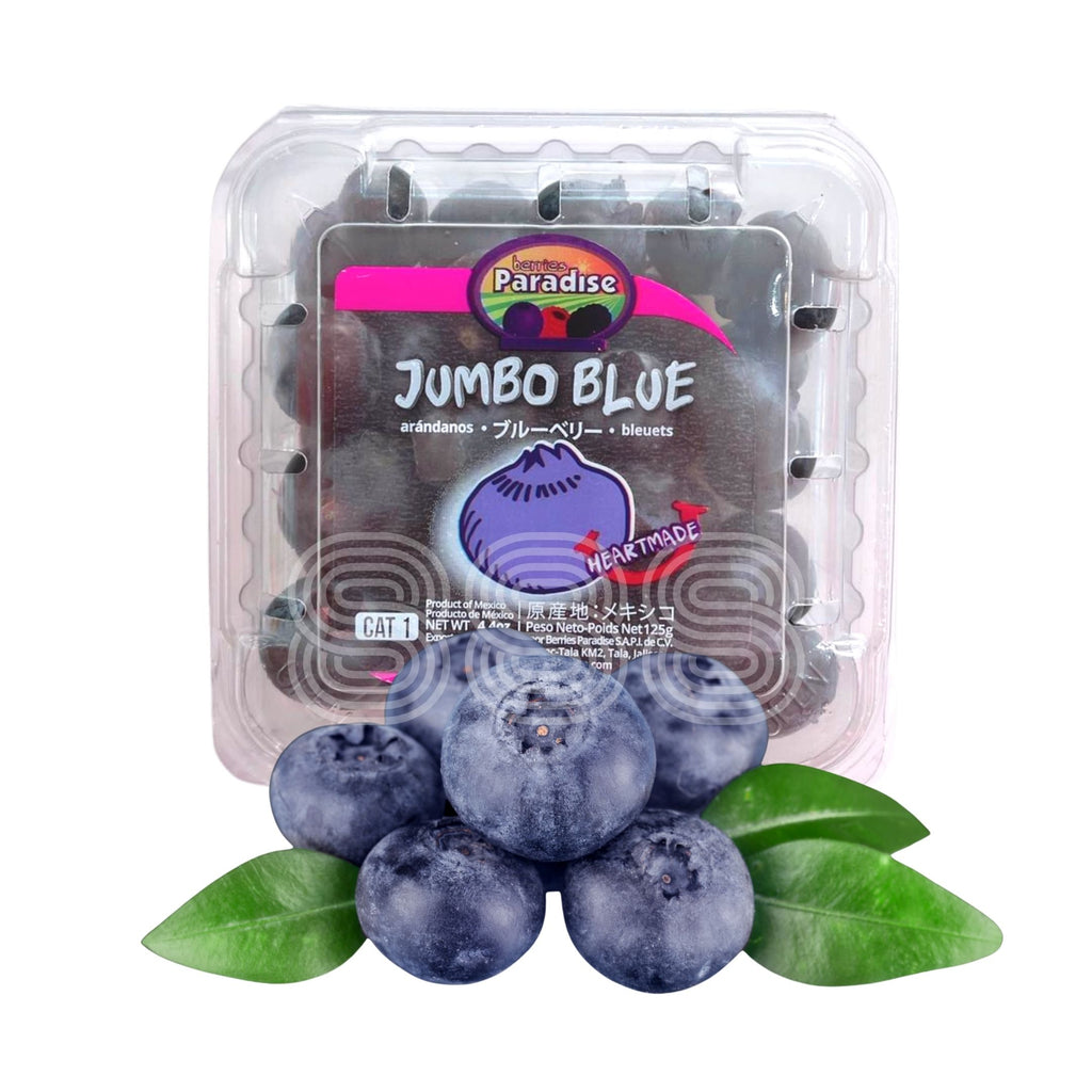 Mexico Jumbo Blueberry (125g/ Punnet, 2 Packs)