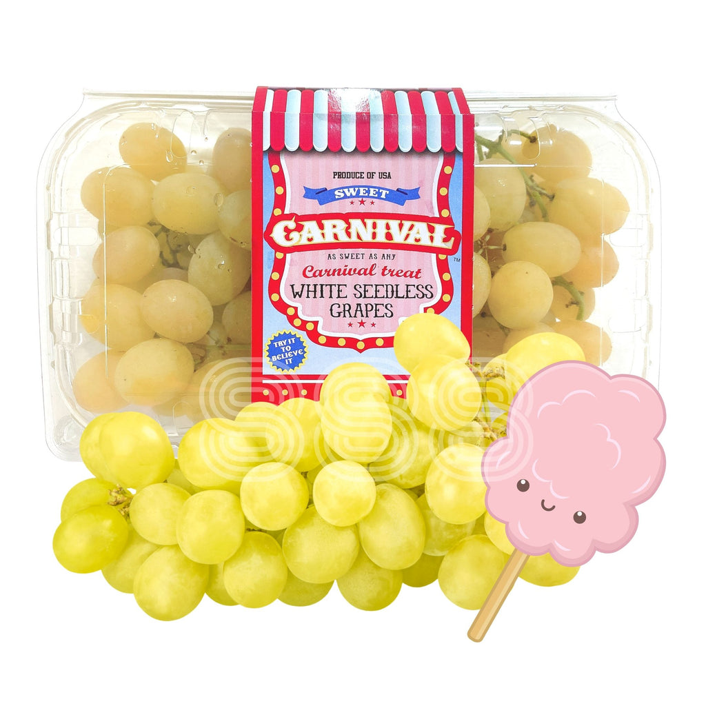 USA Sweet Carnival Cotton Candy Grapes (448g)
