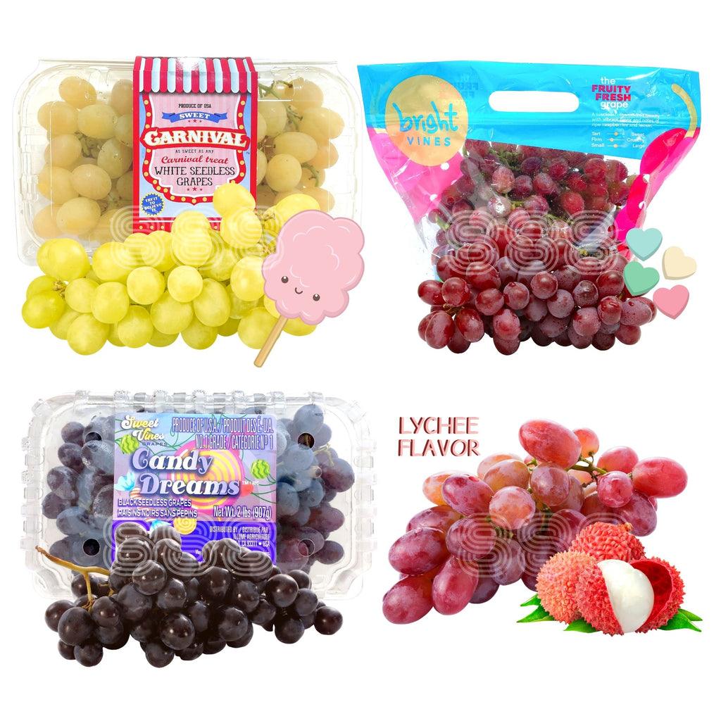 USA Candy Grapes Series Bundle