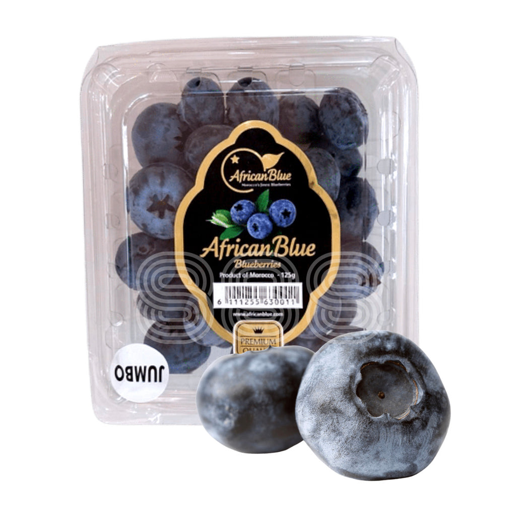 Jumbo African Blue Blueberries (2 Punnets)