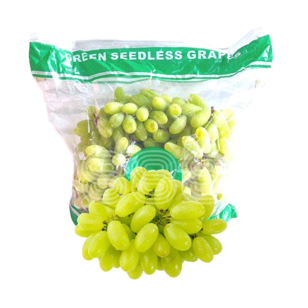 South Africa Moon Drop Green Seedless Grapes