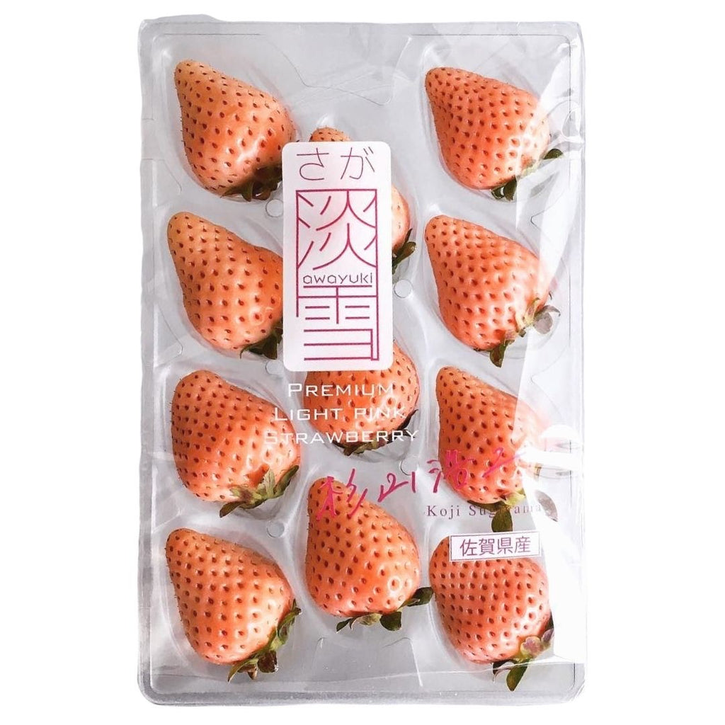Awayuki Premium Light Pink Strawberry
