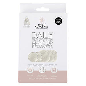 DAILY BIO COTTON MAKEUP REMOVERS