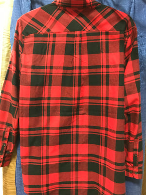 Red Flannel Shirt 2X-4X