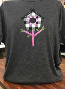 Bird House Sparkle T-Shirt SM-4X