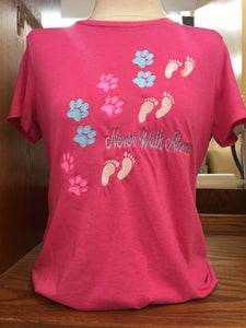 Pink Walk Alone T-Shirt SM-4X