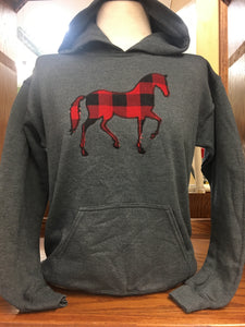 Horse  Youth Hoodie XS-XL