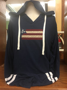 Navy Sweater Flag SM-4X
