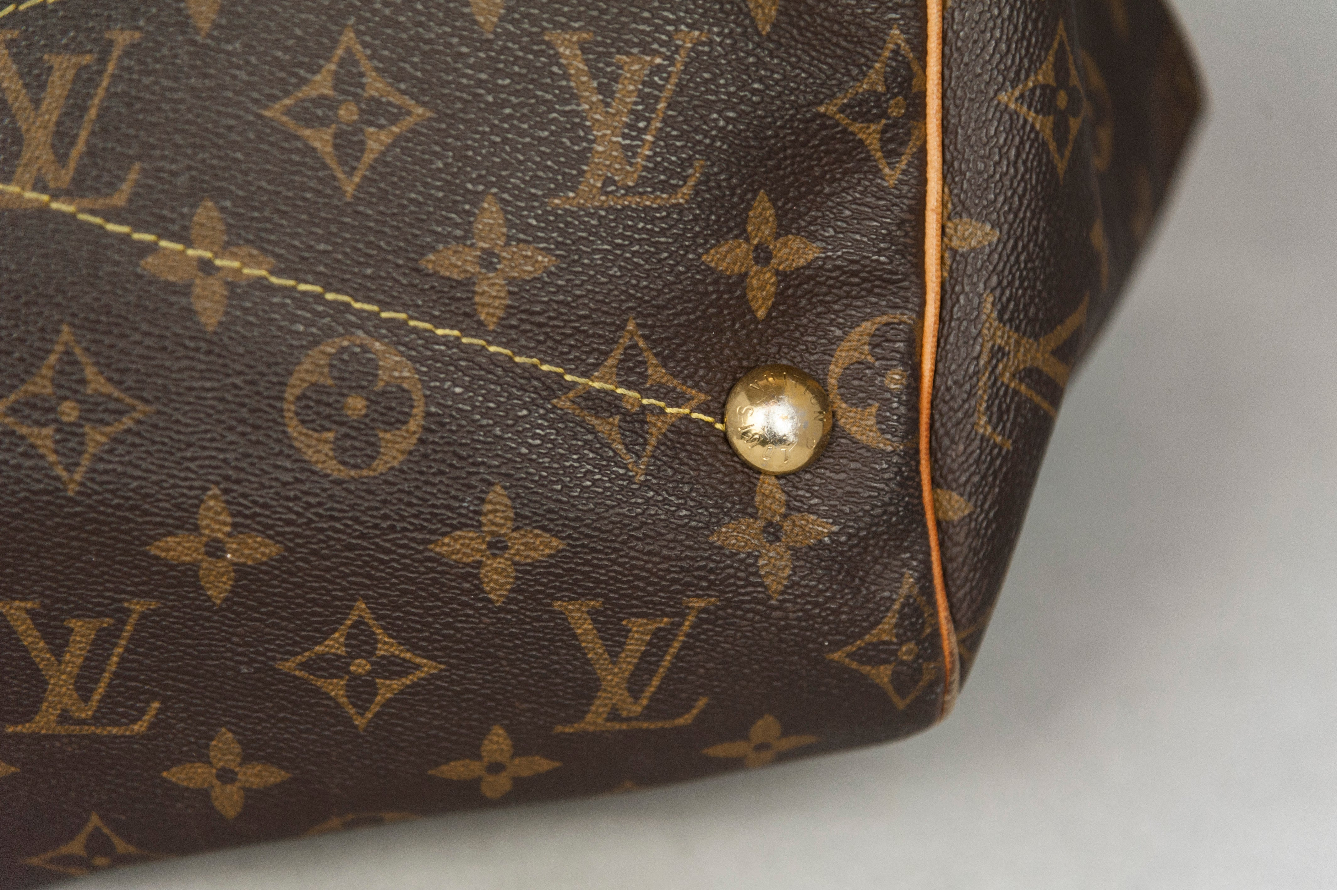Louis Vuitton Shopper Palermo in tela Monogram marrone