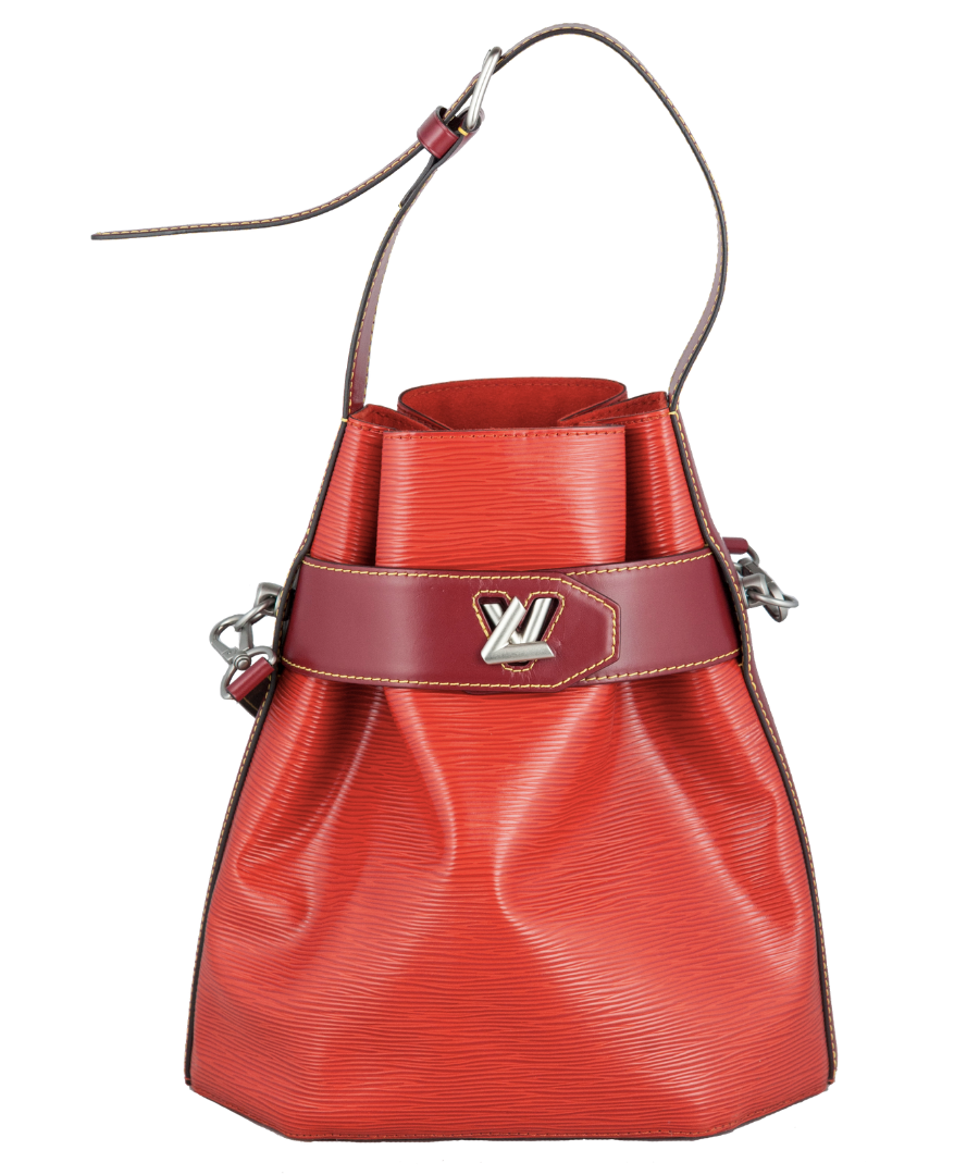 Louis Vuitton Secchiello Twist Bucket in Epi aragosta