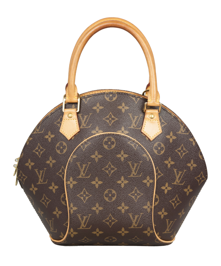 Louis Vuitton Borsa a mano Ellipse in tela Monogram