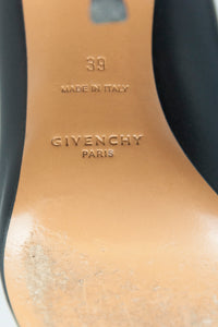 Givenchy Sandali in pelle open toe con cinturino in vernice - N. 39