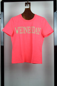 Alberta Ferretti T-shirt Wednesday rosa shocking - Tg. 42