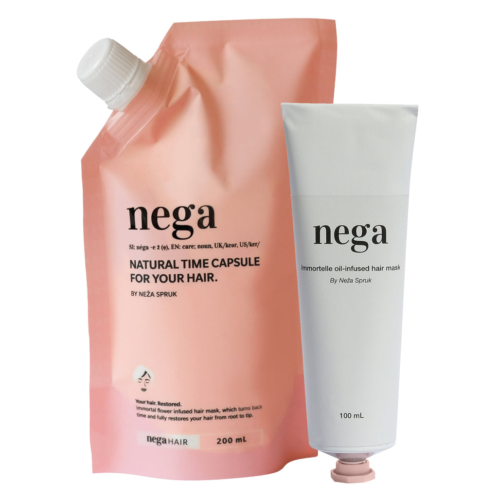 Nega hair mask duo