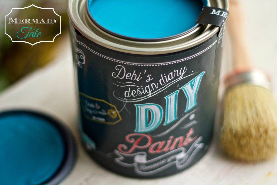 Mermaid Tail DIY Paint