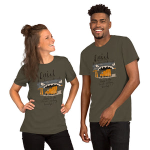 Short-Sleeve Enid Truck Eating Bridge Unisex T-Shirt