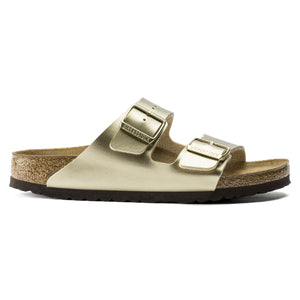 Arizona - The Birkenstock Signature Double Band Sandal in Gold
